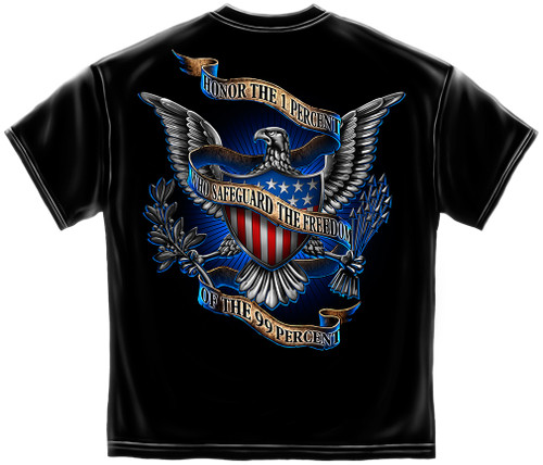 Armed Forces Honor The 1% T-Shirt (MM124)