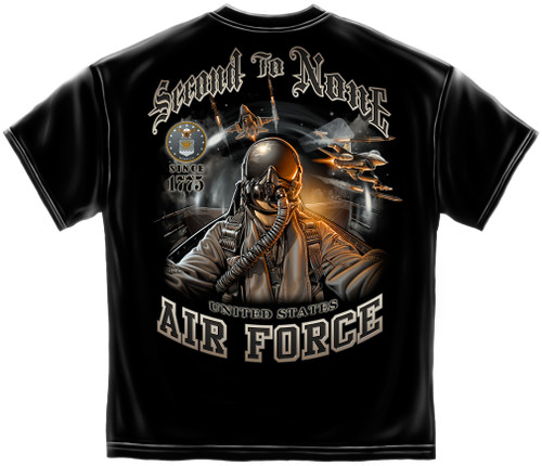 Air Force Second To None T-Shirt (MM137)