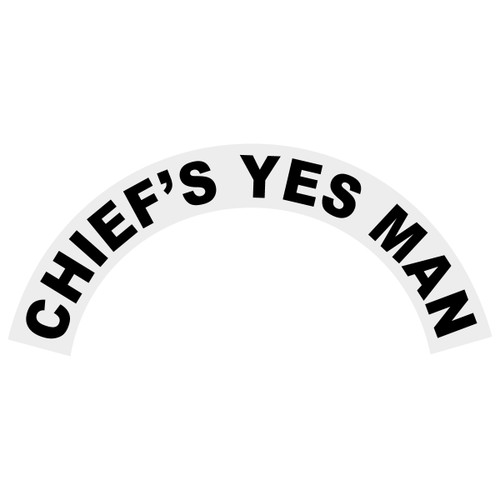 Chief's Yes Man Helmet Crescent