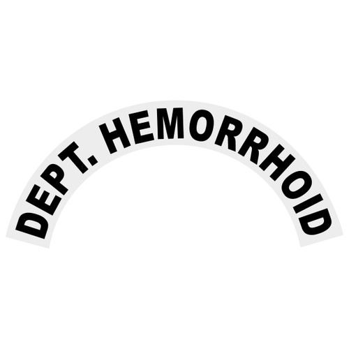 Dept. Hemorrhoid Helmet Crescent