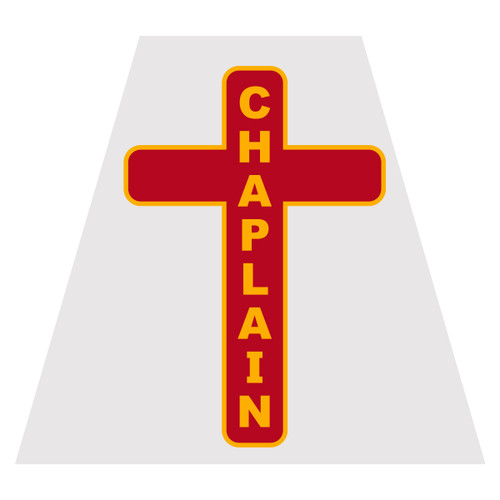Chaplain Helmet Tetra Decal