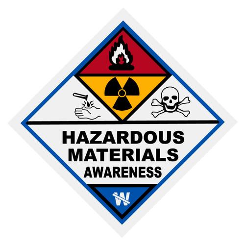 Hazardous Materials Awareness Decal