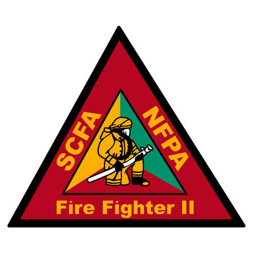 South Carolina Certified Firefighter 2 Decal