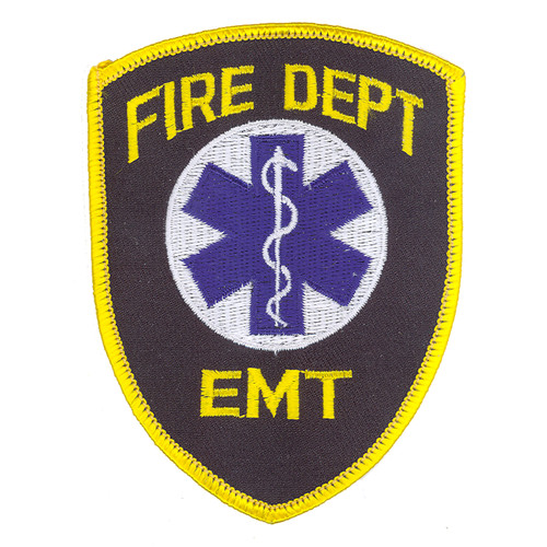 Fire Dept. EMT Patch