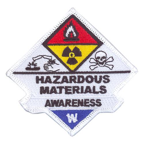 Hazardous Materials Awareness Patch