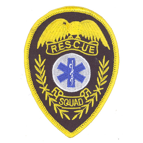Rescue Squad Patch