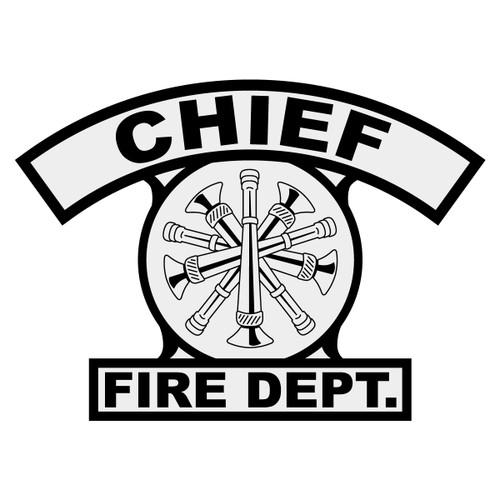 Chief Shield Rocker Crest Frontal