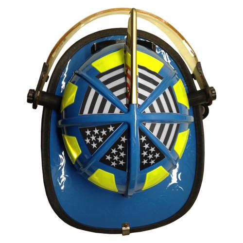 Black American Flag 1010 Helmet Top