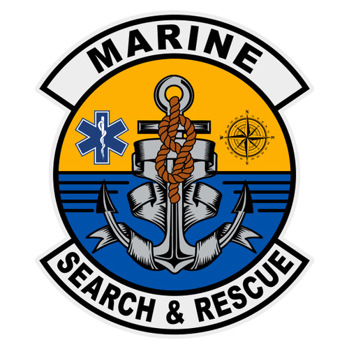 Marine Search & Rescue Decal