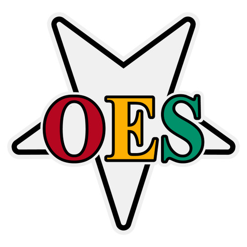 OES Star Decal