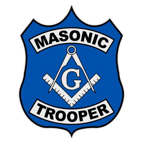 Masonic Trooper Decal
