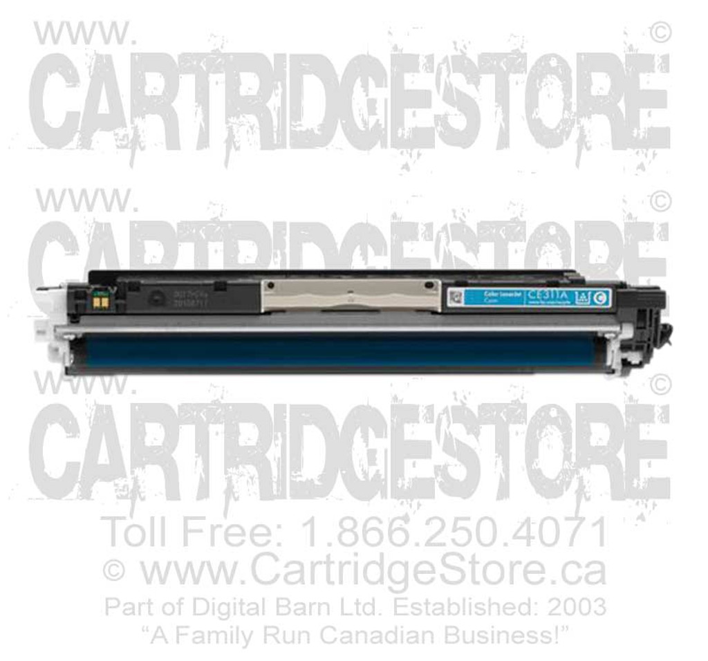 Compatible CE311A Toner for Laserjet HP CP1020, CP1025, CP1025NW Printers