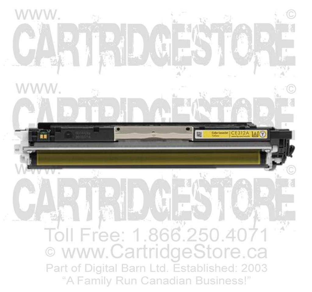 Compatible CE312A Toner for Laserjet HP CP1020, CP1025, CP1025NW Printers