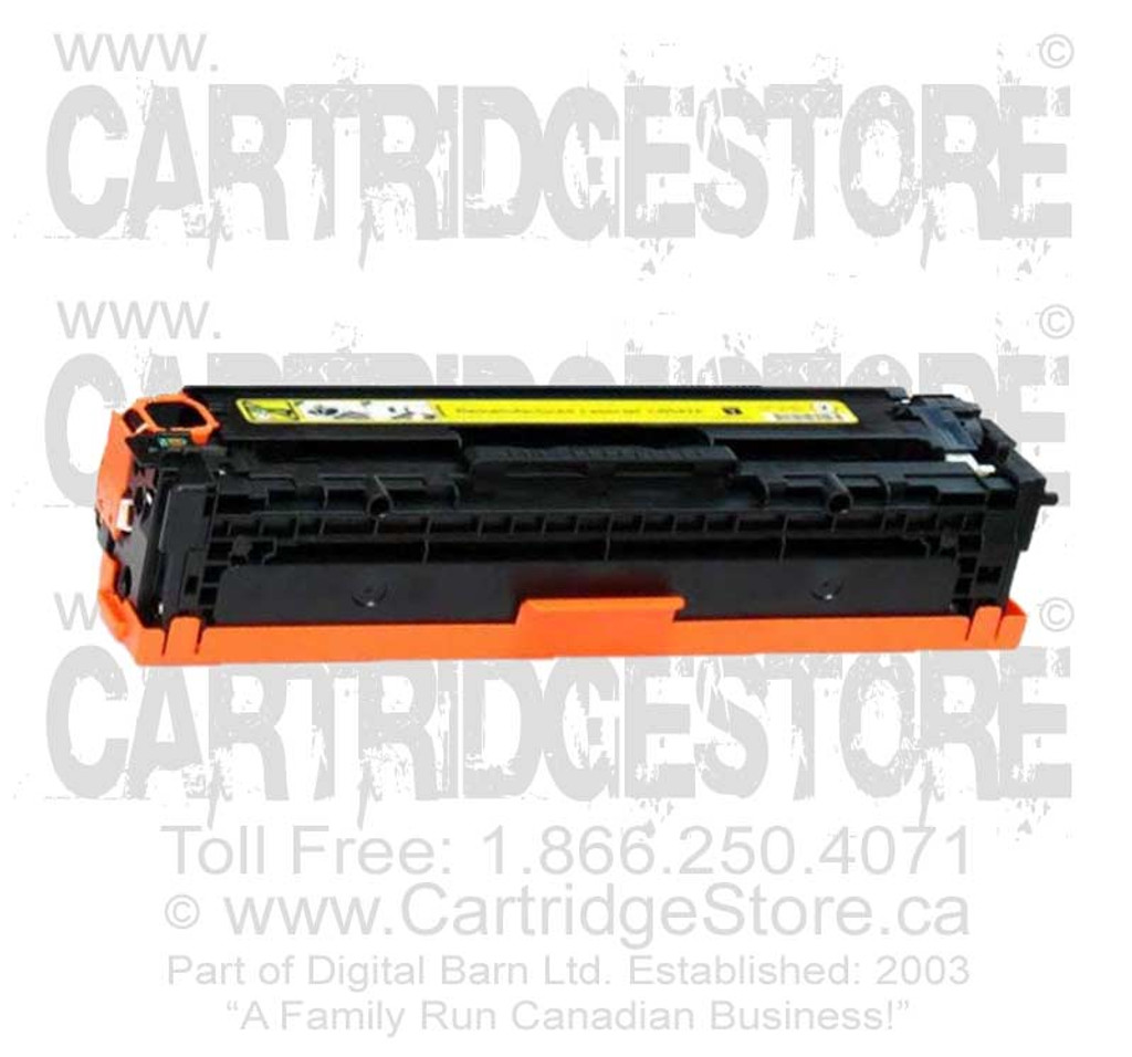 Compatible CE322A Toner for Laserjet HP CM-1415FNW, CP1525NW Printers