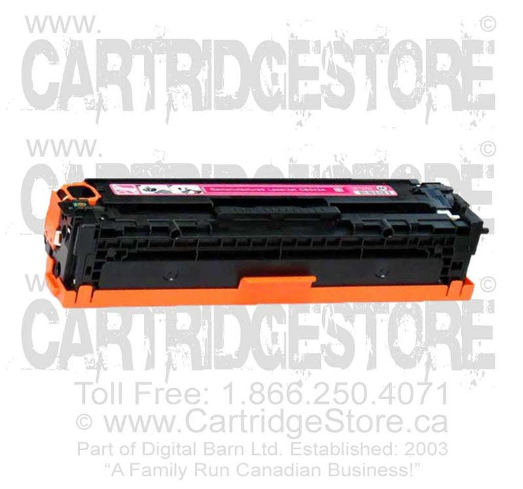 Compatible CE323A Toner for Laserjet HP CM-1415FNW, CP1525NW Printers