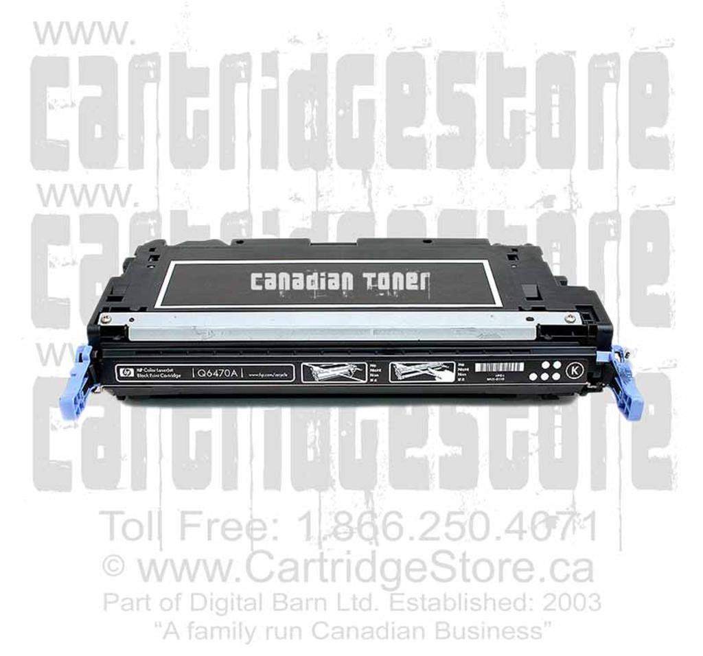 Compatible HP Q6470A Toner Cartridge