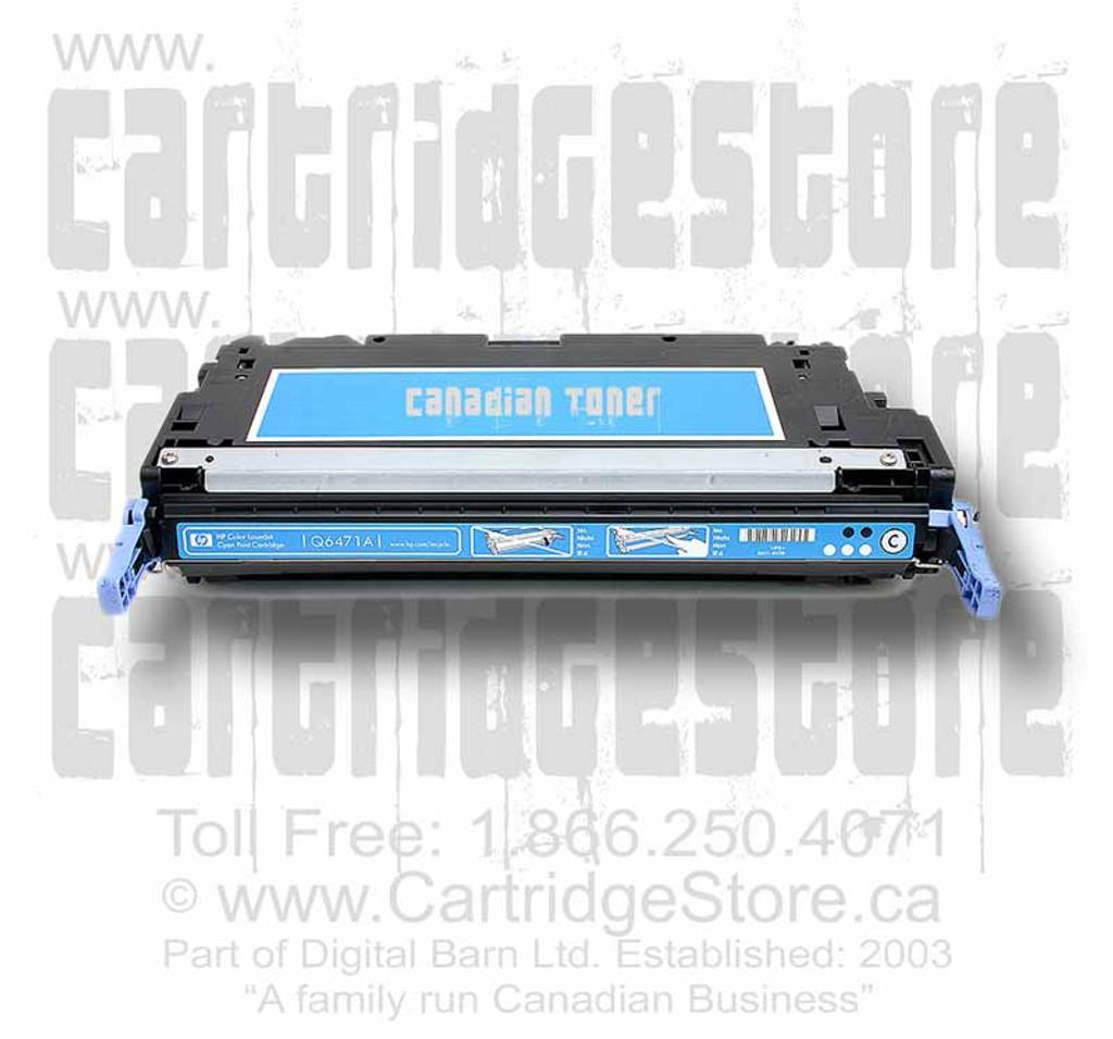 Compatible HP Q7581A Toner Cartridge