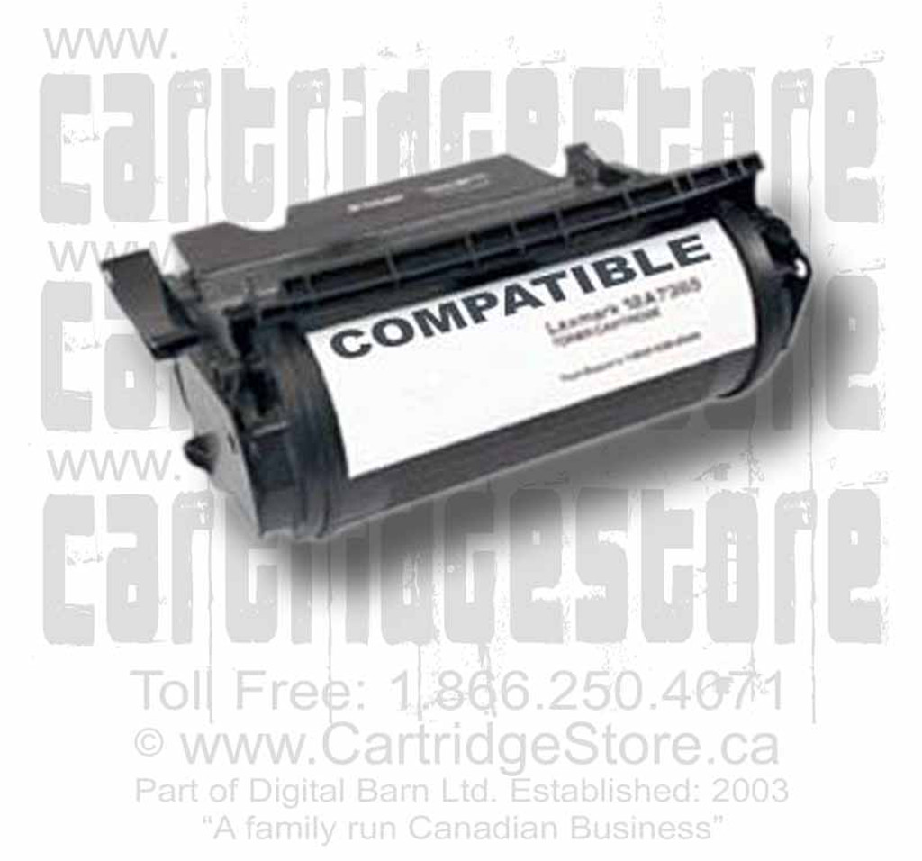 Compatible Lexmark T630 HY 12A7365 Toner Cartridge