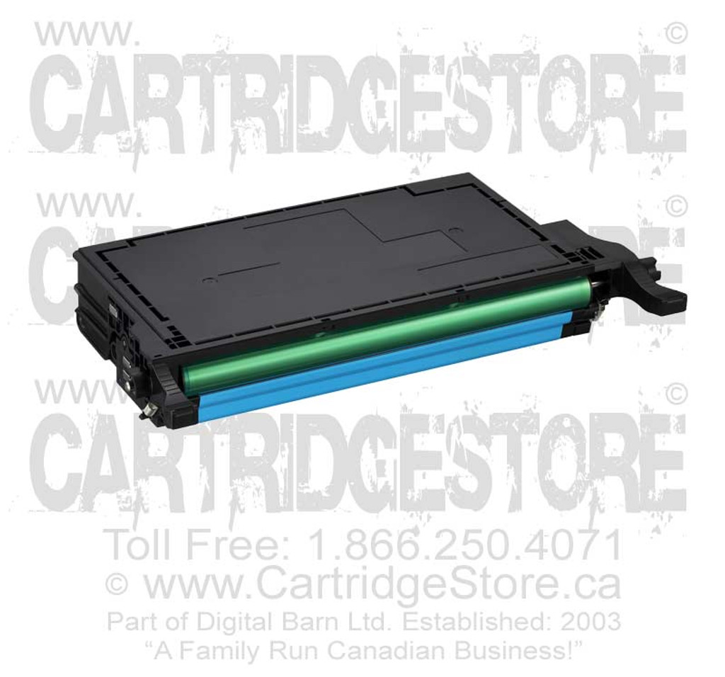 Compatible Samsung CLP-C600A Toner Cartridge