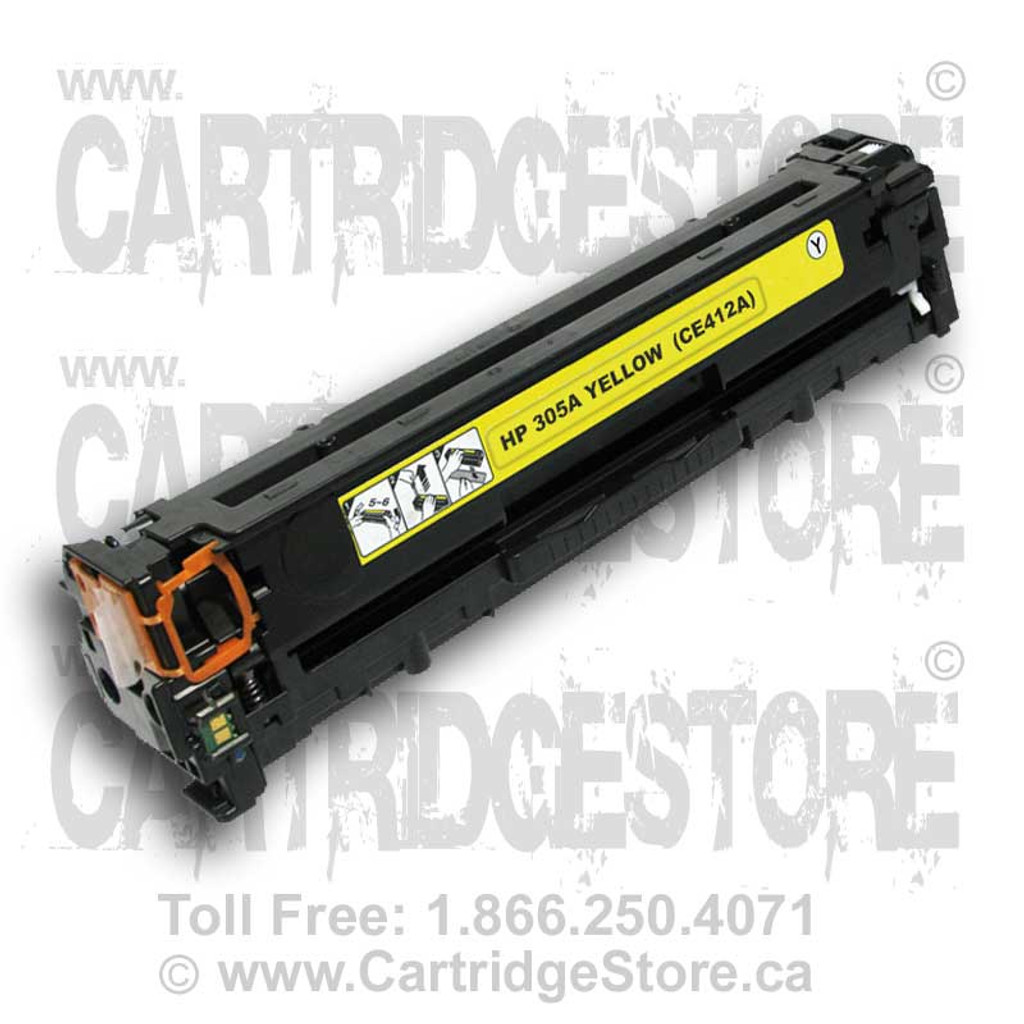 HP 305A Compatible Yellow Toner Cartridge (CE412A)