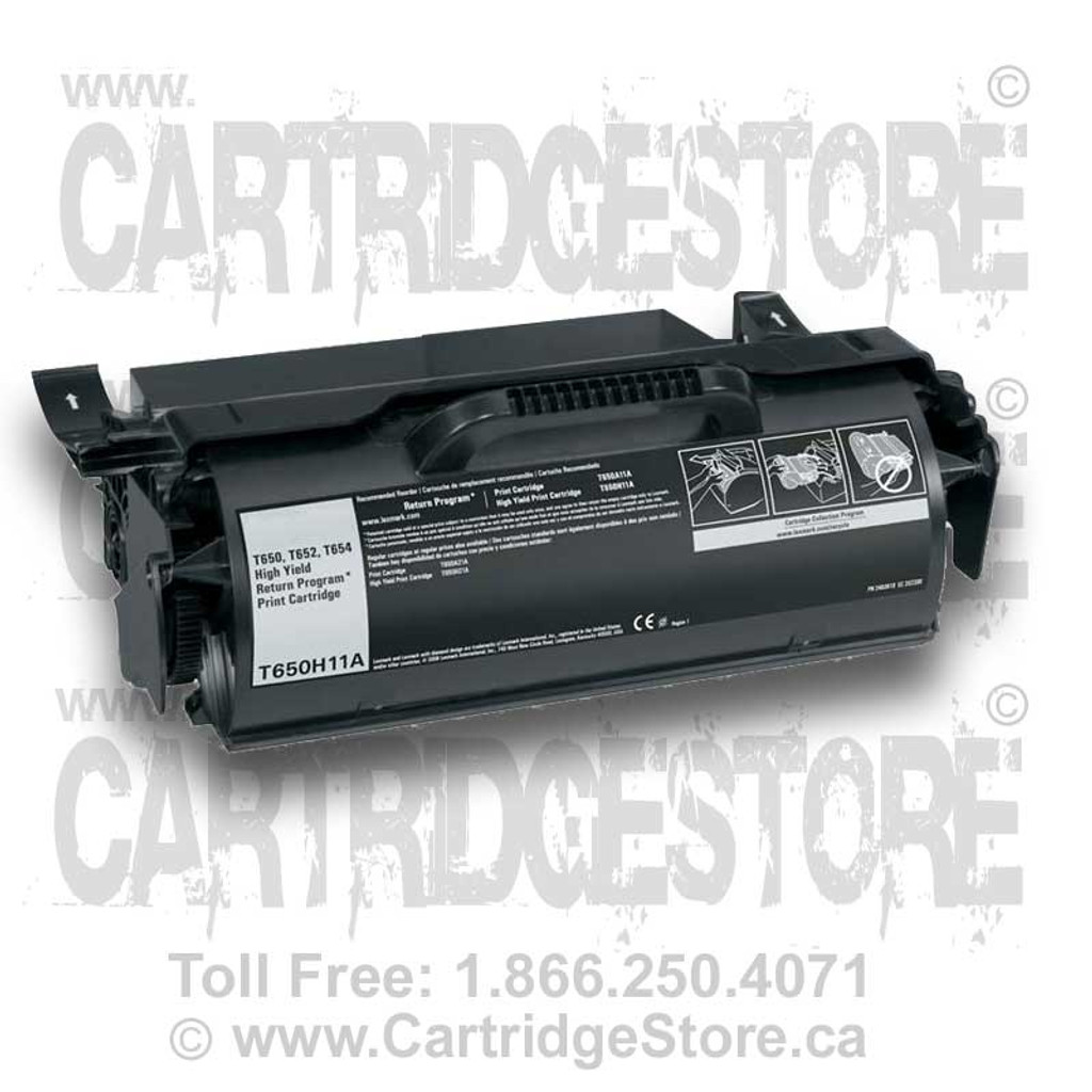 Lexmark T650 Laser Toner Cartridge