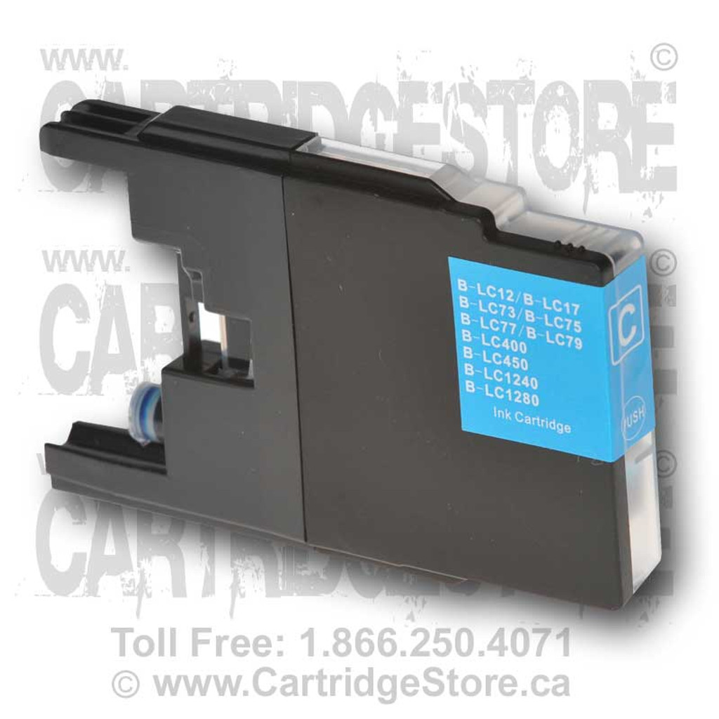 Brother LC77 Cyan Ink Cartridge