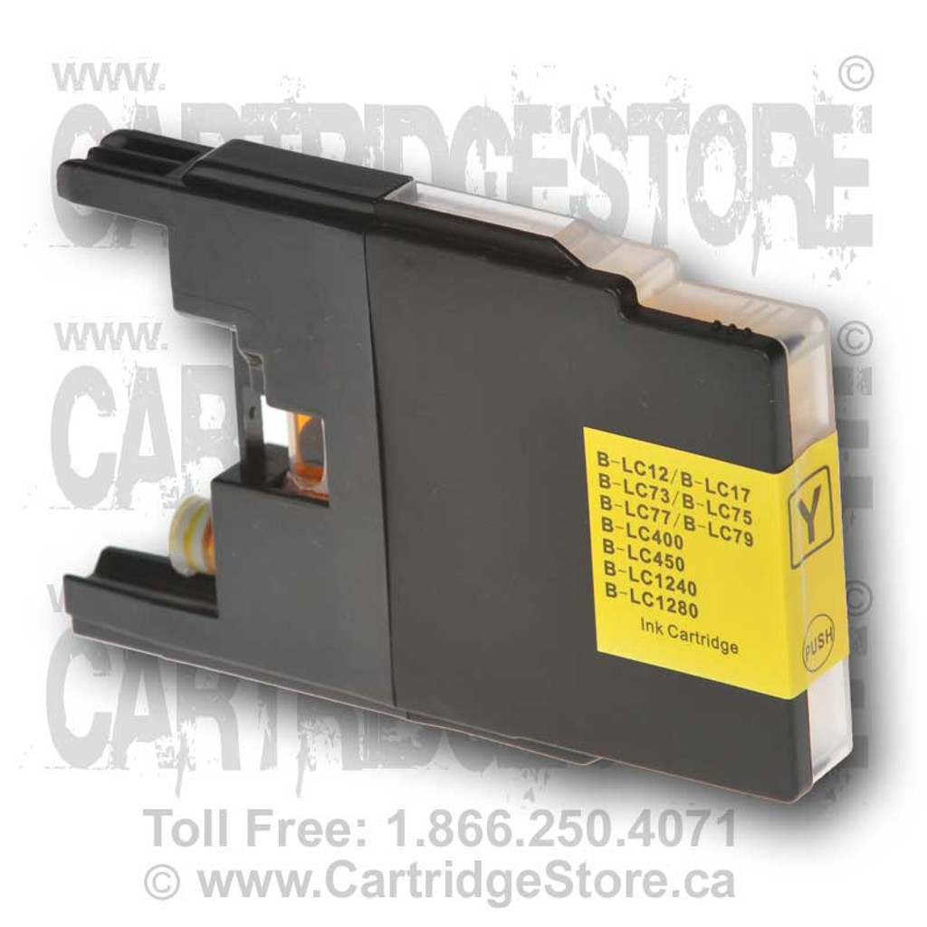 Brother LC77 Yellow Ink Cartridge