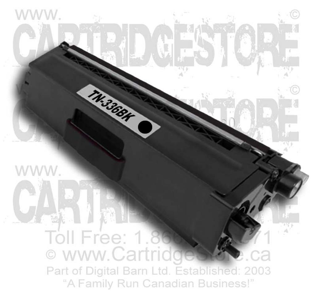 Brother TN336BK Compatible Toner Cartridge (Black TN-336BK)