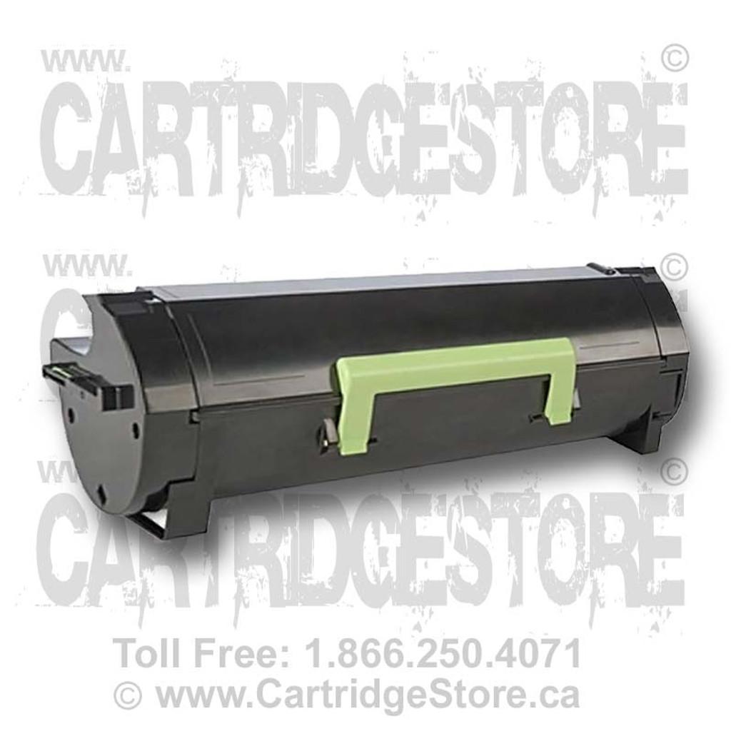 Lexmark MX610 Black Toner Cartridge Remanufactured 601H (60F1H00)