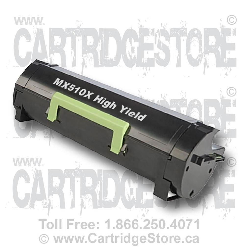 High Yield Lexmark MX510X Remanufactured Toner Cartridge