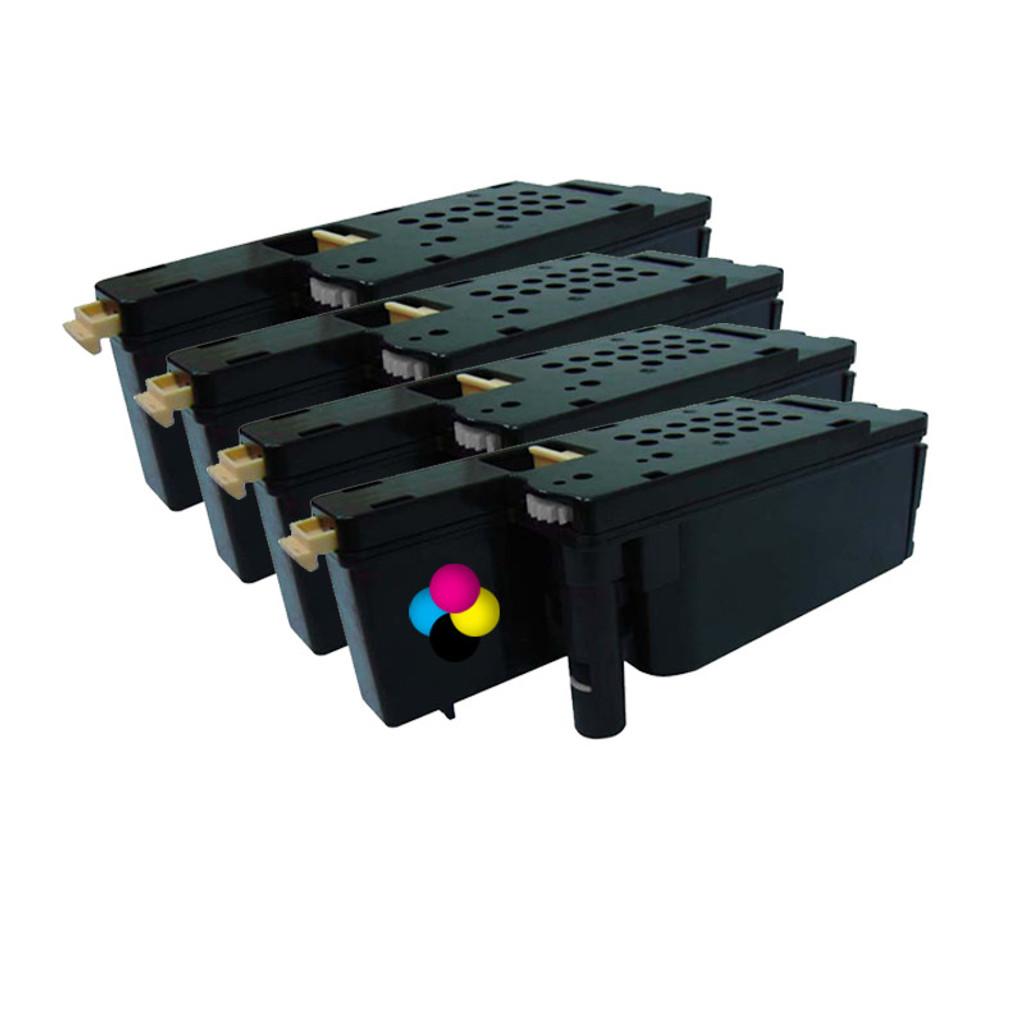 Dell 1255CN Compatible Value Pack C, M, Y, BK Toner