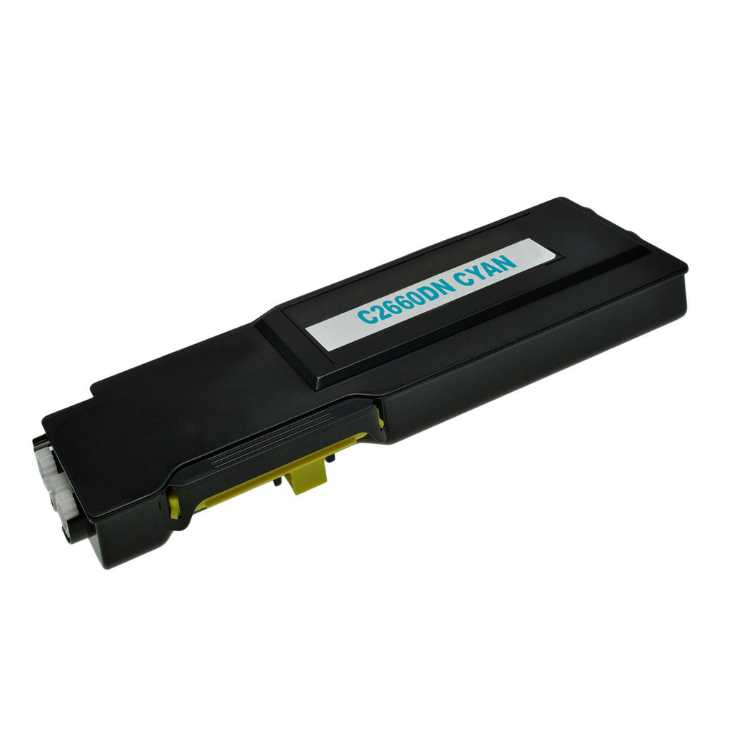 Compatible Aftermarket for Dell C2660DN (593-BBBT) Cyan Toner Cartridge