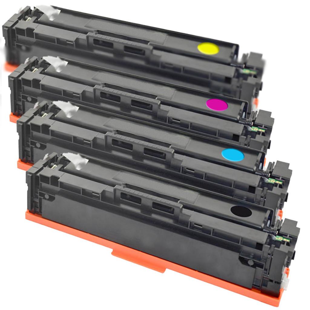 HP 201X Toner Four Pack