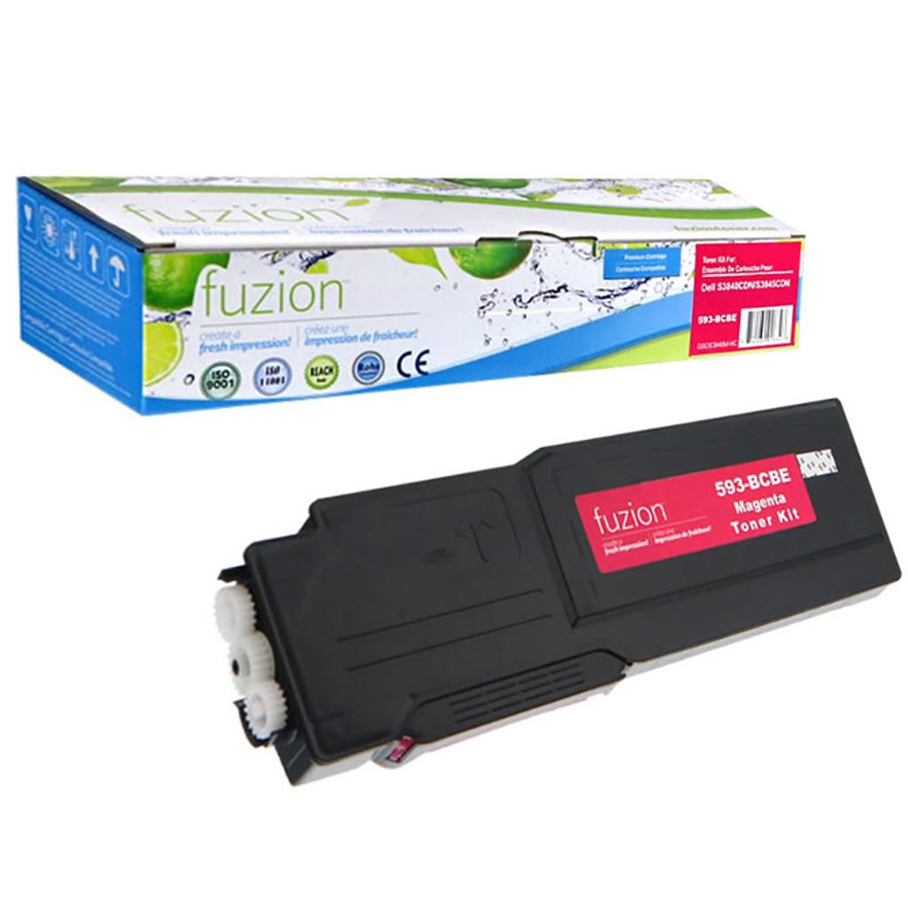 Fuzion - Dell 593-BCBE-Magenta-Toner