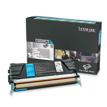 OEM Lexmark C522, C524, C530, C532 Cyan Toner Cartridge - C5220CS