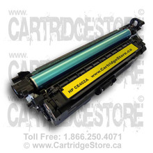 HP 507A CE402A Compatible Yellow Toner cartridge