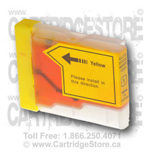 Brother LC51 Yellow Ink Cartridge