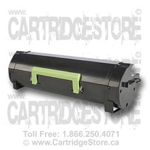 (60F1H00) Lexmark MX611 Black Remanufactured Toner Cartridge 601H