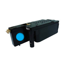 Cyan toner for Dell 1255cn Printers, aftermarket replacement