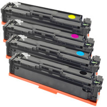 HP 201A Compatible Toner Four Pack