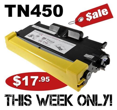 Compatible Brother TN450 Toner Cartridge