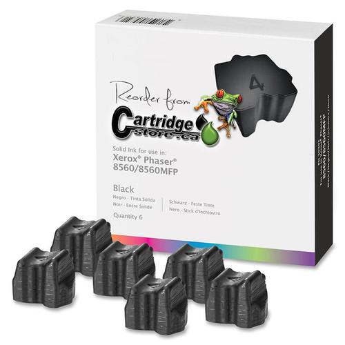 New Phaser 8560 Black Bulk Six Pack 108R00726