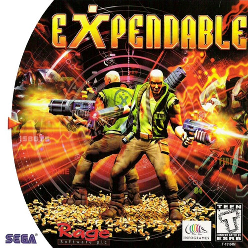 Expendable -GAME ONLY- (Dreamcast)