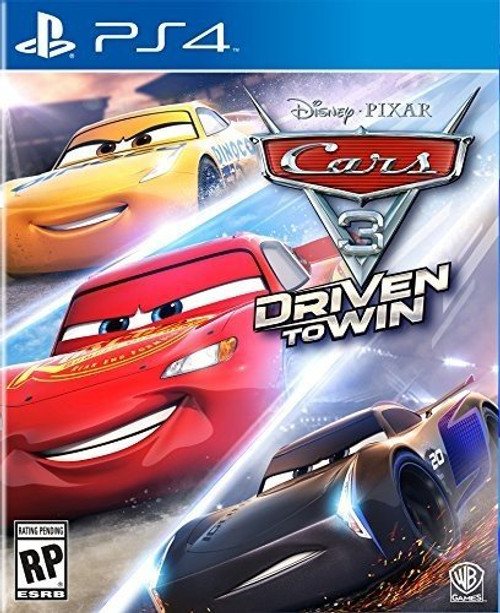 Cars 3: Driven to Win (PS4) (Pre-Owned)
