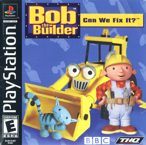 Bob the Builder: Can We Fix It? (PS1)