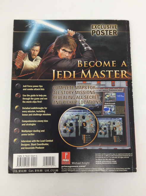 Star Wars: Episode III - Revenge of the Sith (Prima Official Game Guide)