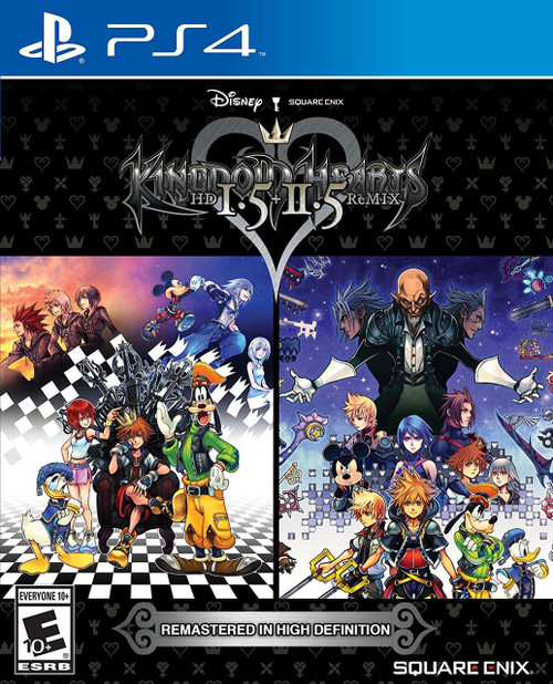 Kingdom Hearts 1.5 + 2.5 Remix (PS4) (Pre-Owned)
