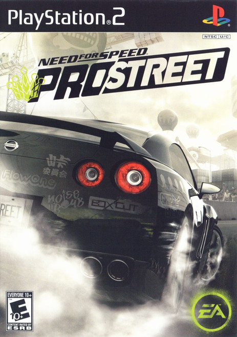 Need for Speed: Pro Street (PS2)