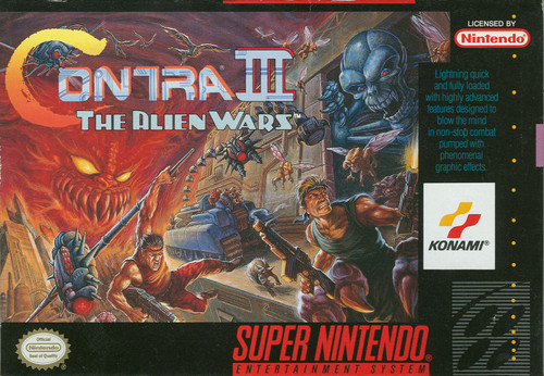 Contra III: The Alien Wars (Super Nintendo)