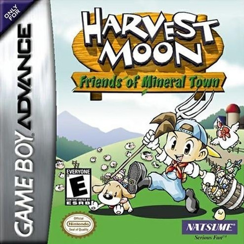 Harvest Moon: Friends of Mineral Town( Game Boy Advance)